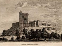 Bolsover Castle, 1787 engraving